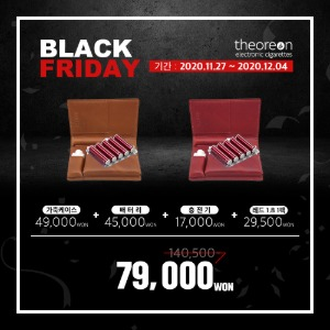 BLACK FRIDAY 프로모션
